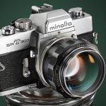 Minolta SRT303. Iluminación por capas.