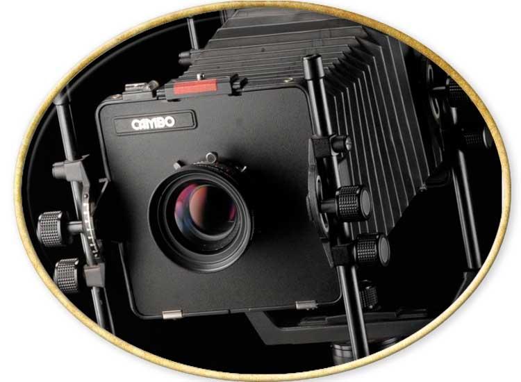 cámara de gran formato