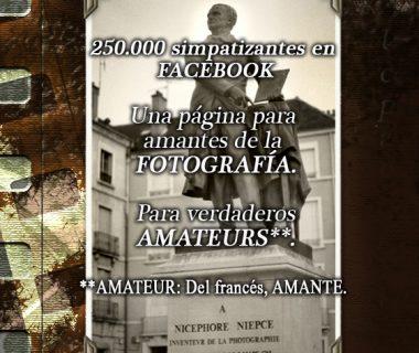 250.000 simpatizantes en Facebook