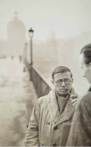 Henri Cartier-Bresson_sartre