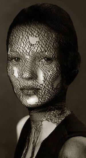 Kate Moss by Albert Watson