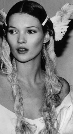 Kate Moss by Hans Weinheime