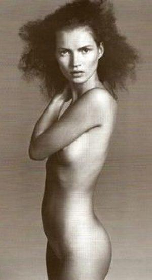 Kate Moss by Richard Avedon