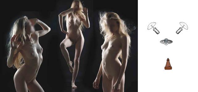 Fotografía de desnudo, retrato y moda.