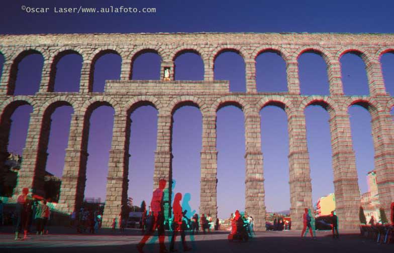 España en 3D. Acueducto de Segovia.