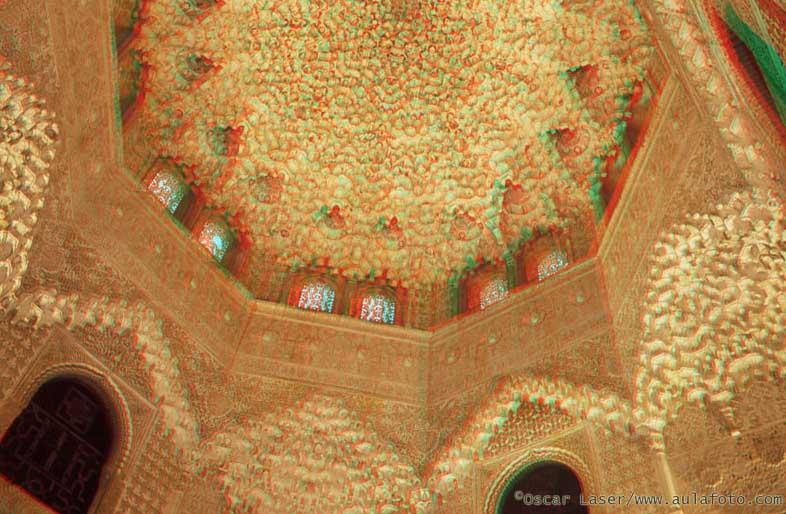 España en 3D. Alhambra de Granada.