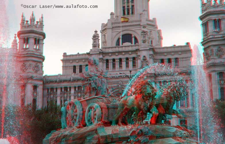 España en 3D. Cibeles.