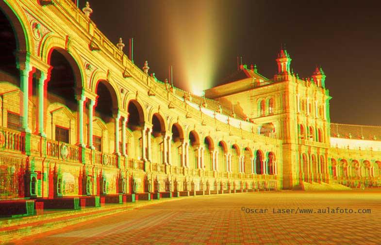 España en 3D. Sevilla.