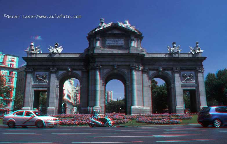 España en 3D. Puerta de Alcalá.