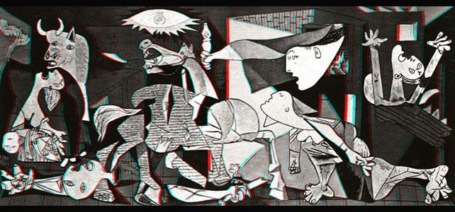 El Guernica en 3D