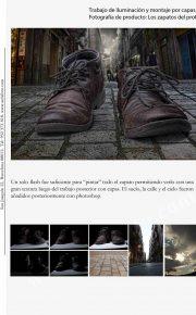 Fotografía de producto. Los zapatos del profe.