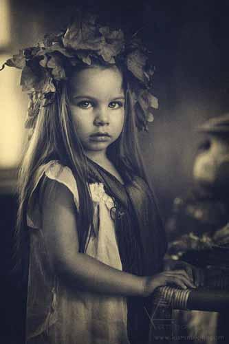 Grandes fotógrafos/as  de niños; Karina Kiel