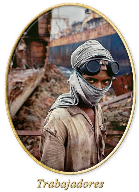 fotografías de trabajadores
