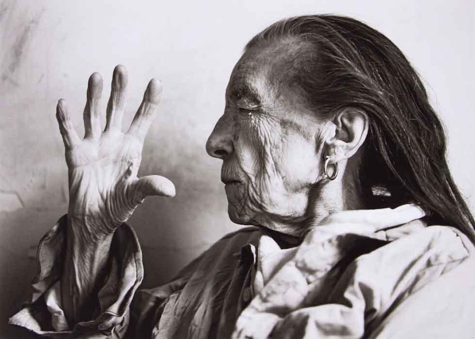 grandes-fotógrafos-de-retrato-Annie Leibovitz-Louise Bourgeois-