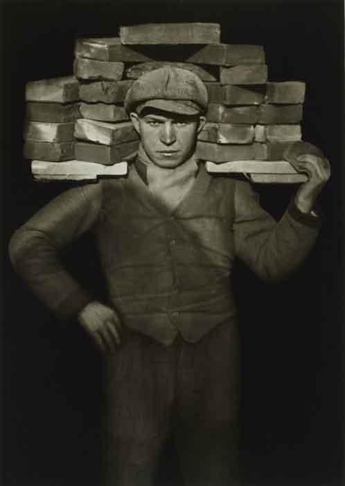 grandes-fotógrafos-de-retrato-August Sander, Handlanger, 1928 - copia