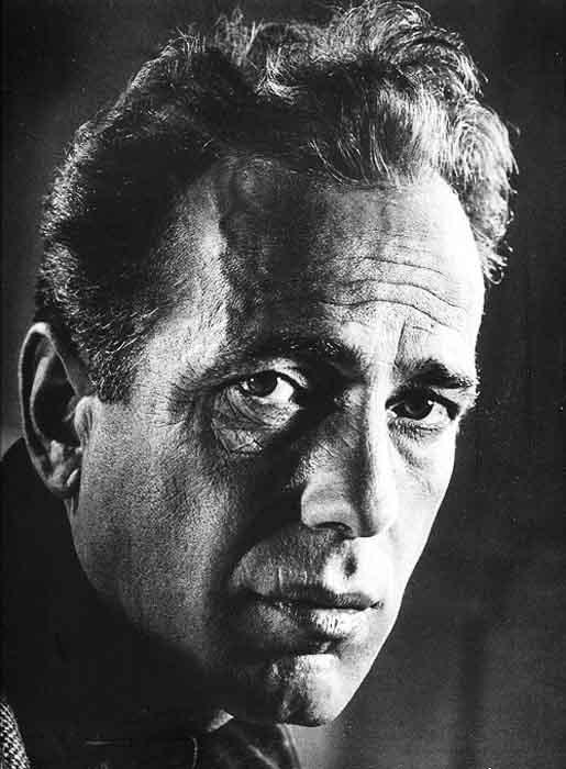 Philippe Halsman-Humphrey Bogart