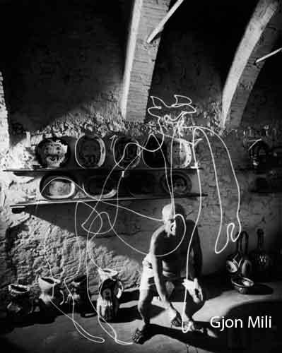 Gjon Mili. Picasso.