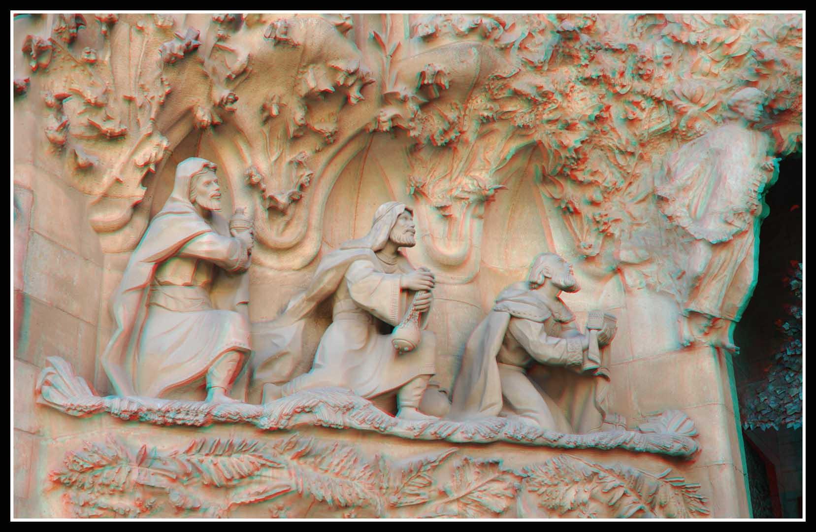 Sagrada Familia en 3D