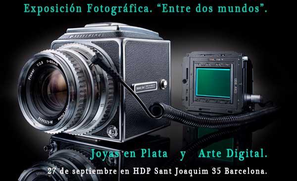 Exposición. Entre dos mundos.  Fotografistógrafo. Aula D'Especialització Fotogràfica