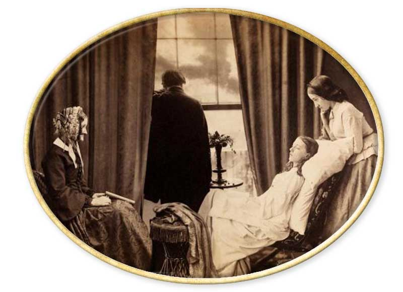 pionero del fotomontajeHenry Peach Robinson (1830-1901) puede ser considerado como uno de los padres del pictorialismo