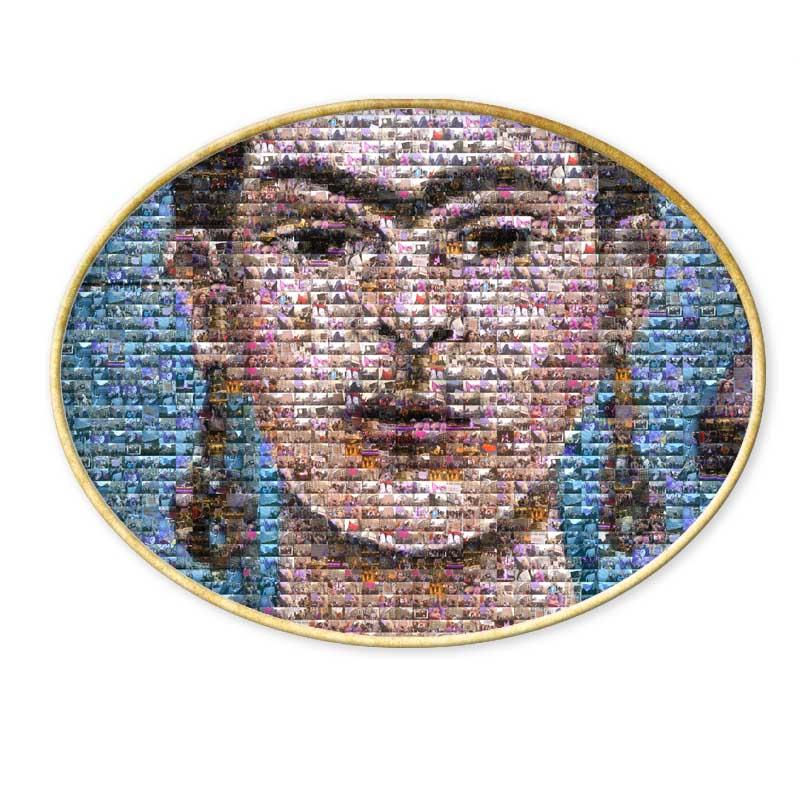 mosaico de Frida Kahlo