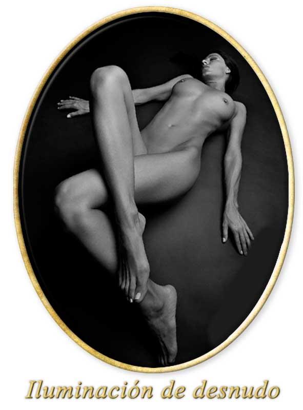 iluminacion de desnudo