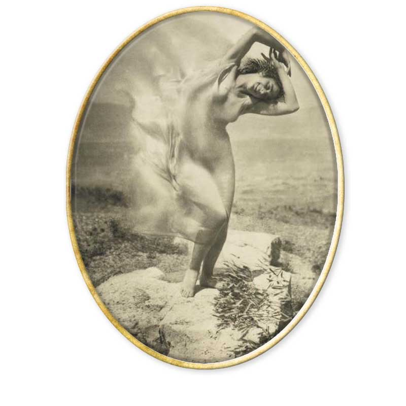 El fotógrafo y pintor Edward Steichen (Luxemburgo, 1879 - Connecticut, 1973),
