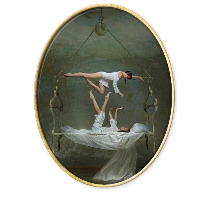 Vladimir Fedot. El circo ambulante.