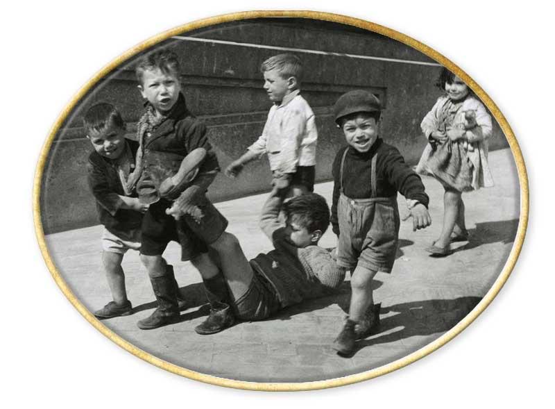 niños callejeros