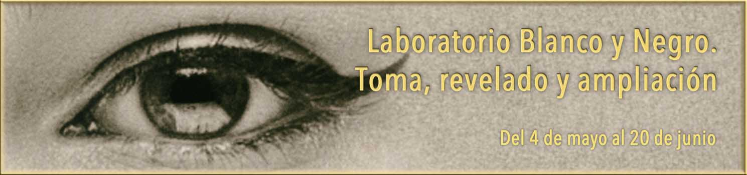 curso de laboratorio blanco y negro
