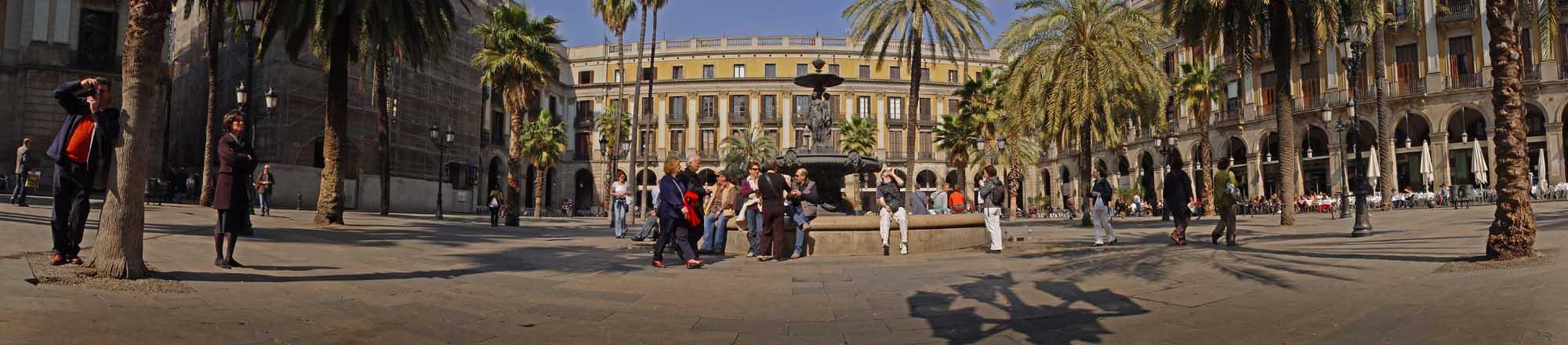 Plaza Real.