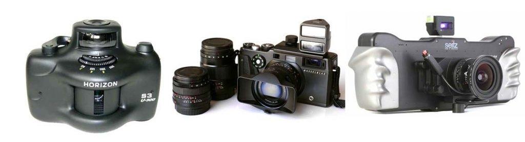 cámaras para fotografía panorámica