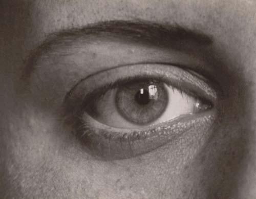 © August Sander, el ojo derecho de mi hija Sigrid, 1928