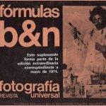 Fórmulas de laboratorio Blanco y Negro.