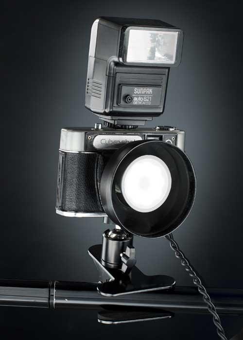 cámaras hechas lámpara