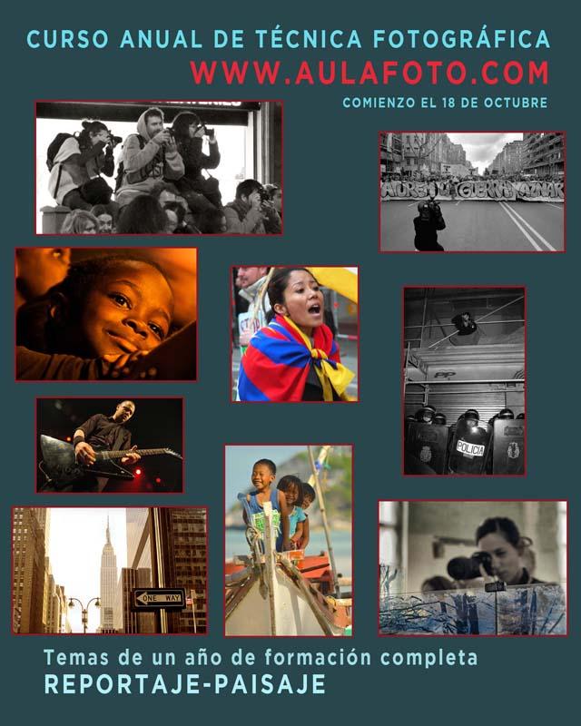 curso de fotografía en Barcelona. iluminación de retrato 2